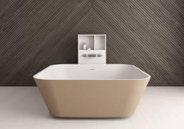 bañera exenta de diseño solid surface