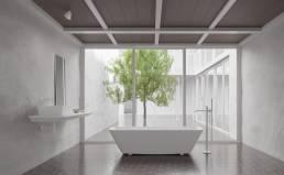 bañera exenta solid surface Scene